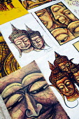 Art drawings to sale to the tourists, of religious images. - Tom Parker - 2000s,2007,ace art culture arts,art,arts,Asia,asian,asians,buddha,Buddhism,buddhist,buddhists,buy,buyer,buyers,buying,commodities,commodity,country,countryside,drawing,drawings,goods,holiday,holiday m