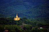 One of the famous Buddhist Temples, Luang Prabang, Laos - Tom Parker - 04-04-2007