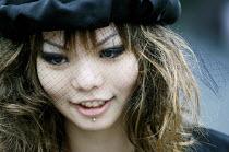 A gothic Harajuku school girl, Tokyo. - Tom Parker - 04-04-2007