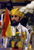 A member of the Haile Selassie I Peace Foundation in devotion in Birmingham - Timm Sonnenschein - 06-05-2006