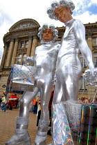 Gay men in space costumes on the Birmingham Pride Parade - Timm Sonnenschein - 28-05-2006