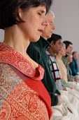 People meditating at the Birmingham Buddhist Centre - Timm Sonnenschein - 14-02-2006