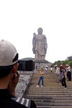 88 meter high Amitabha Buddha statue, Wuxi, China - Timm Sonnenschein - 2000s,2007,ace art arts culture,artwork,artworks,belief,Bodhisattva,Bodhisattvas,bronze,Buddha,Buddha's,Buddhism,Buddhist,buddhists,camera,cameras,CELLULAR,China,Chinese,compassion,compassionate,convi