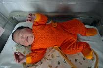 A new born baby a few hours after its birth, Birmingham Womens Hospital - Timm Sonnenschein - 19-06-2007