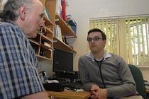 GP and patient in a Medical Centre, Birmingham - Timm Sonnenschein - 20-08-2008