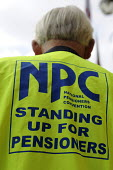 Pensioners protesting for decent state pensions in Birmingham - Timm Sonnenschein - 17-10-2009
