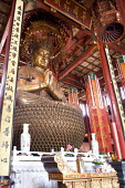 Main Buddha statue in the �Tanzhe Temple, �Hangzhou, China - Timm Sonnenschein - 17-08-2010