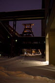 Zeche Zollverein, Winding tower of shaft 12, UNESCO World Heritage Site, Essen, Germany. - Timm Sonnenschein - 25-12-2010