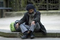 A Homeless man, Birmingham City Centre - Timm Sonnenschein - 05-02-2011