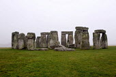 Ancient stone circle Stonehenge, a prehistoric monument near Salisbury, Wiltshire. �It is at the centre of the most dense complex of Neolithic and Bronze Age monuments in England, it is a World Herita... - Timm Sonnenschein - 21-02-2011