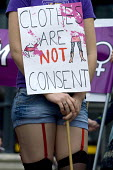 Slutwalk �Birmingham, women and men protest against rape and violence towards women. - Timm Sonnenschein - 18-06-2011