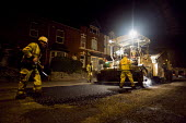 Amey subcontractors resurfacing a residential road for Birmingham City Council - Timm Sonnenschein - 28-06-2011