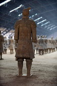 Terracotta warriors depicting the armies of Qin Shi Huang the first emperor of China. It is a form of funerary art buried with the emperor in his tomb in 210-209 BC and whose purpose was to protect th... - Timm Sonnenschein - 03-08-2011