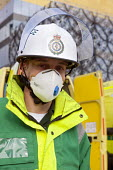 West Midlands Ambulance Service staff, Birmingham Shield exercise simulating chemical, biological, radiological or nuclear (CBRN) incident - Timm Sonnenschein - 30-10-2011