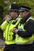 West Midlands Police officer and a PCSO, Birmingham city centre. - Timm Sonnenschein - 28-04-2012
