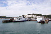 P&O and DFDS Seaways ferries at the Dover harbour - Timm Sonnenschein - 24-08-2012