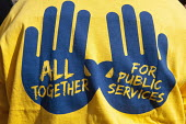 POA T-Shirt All together for Public Services - Timm Sonnenschein - 07-10-2012