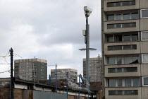 CCTV and high rise council housing, Maypole, Birmingham. - Timm Sonnenschein - 06-02-2013