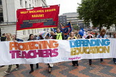 NUT and NASUWT members on strike over pay and pensions march through Birmingham - Timm Sonnenschein - 01-10-2013