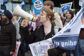 NUT and NASUWT teachers on strike over pay and pension march through Birmingham - Timm Sonnenschein - 01-10-2013