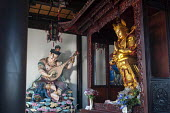 Buddhist protector, Lokapala statues, Bodhi Buddhist Temple, Anting Town, China - Timm Sonnenschein - 12-08-2013