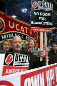 Midlands TUC and UCATT day of action against blacklisted trades union members protest outside the Sir Robert McAlpine office, Birmingham - Timm Sonnenschein - 20-11-2013