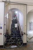 Barricaded entrance. Defend Education student occupation of the University of Birmingham senate chamber and related rooms in protest against vice-chancellor David Eastwood £409,000 pay package, the p... - Timm Sonnenschein - 27-11-2013