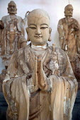 Unfinished sculpture of a Buddhist saint, Tong Shan Temple, Moganshan, China - Timm Sonnenschein - 15-04-2014