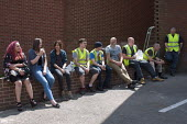Atlantic Shopworkers on their lunch break, Ladywood, Birmingham - Timm Sonnenschein - 10-07-2014