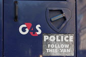 G4S logo on a cash and valuables transport vehicle - Timm Sonnenschein - 08-09-2014