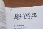 HM Courts and Tribunal Service letter - Timm Sonnenschein - 01-10-2014