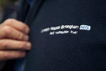 NHS University Hospital Birmingham logo on staff jacket - Timm Sonnenschein - 13-10-2014