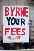 Byrne your fees. National student protest for free education in Birmingham initiated by the National Campaign Against Fees and Cuts - Timm Sonnenschein - 28-03-2015