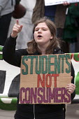 National student protest for free education in Birmingham initiated by the National Campaign Against Fees and Cuts - Timm Sonnenschein - 28-03-2015