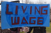 Living wage. National student protest for free education in Birmingham initiated by the National Campaign Against Fees and Cuts - Timm Sonnenschein - 28-03-2015