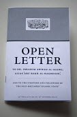 The Open Letter to ISIS, Birmingham. A letter intended to combat extremism addressed to Dr. Ibrahim Awwad Al-Badri, alias Abu Bakr Al-Baghadi and to the fighters and followers of the self-declared Isl... - Timm Sonnenschein - 20-05-2015