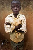 Rwandan boy. Kigali, Rwanda, 2003 - Steven Langdon - 01-03-2003