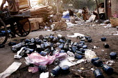 Scavenging through a Garbage dump, New Delhi, India - Tashi Tobgyal - 07-12-2007