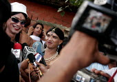 The first ever Gay Pride Parade in India went underway in the national capital on Sunday. Gay and transgender activists assembled Sunday afternoon demanding rights and abolition of the IPC 377 in Indi... - Tashi Tobgyal - 29-06-2008