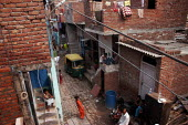 Balsava, a slum in North Delhi was one of the places to be part of the Habitat for Humanity nonprofit housing project, instigated by the Lehman Brothers Holdings Inc. About thirty houses were built to... - Tashi Tobgyal - 01-02-2009