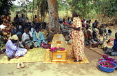 The funeral of a man, married with five children, who was one of three villagers killed by LRA rebels while they tried to protect his village from an attack. Three other men were abducted and killed n... - Thomas Morley - 16-03-2005