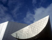 Entrance canopy at The Lowry, Salford Quays Manchester. - Len Grant - 01-06-2000