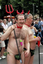 Devils, Gayfest parade, Manchester - Len Grant - 25-08-2001