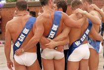 Mr Gay UK, Gayfest, Manchester - Len Grant - 25-08-2001
