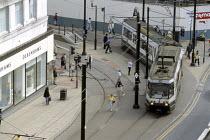 Debenhams and tram. - Len Grant - 06-05-2001