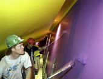 Painters at work - Len Grant - 20-02-2002