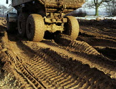 Earthmoving vehicles, Manchester. - Len Grant - 20-03-2001