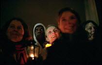 Stop the War on Iraq Candlelight Vigil, Trafalgar Square - Paul Mattsson - 2000s,2003,activist,activists,anti war,CAMPAIGN,campaigner,campaigners,CAMPAIGNING,CAMPAIGNS,Candle,Candlelit,Candles,DEMONSTRATING,DEMONSTRATION,DEMONSTRATIONS,Female,funny,Humor,HUMOROUS,HUMOUR,Iraq