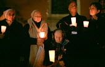 Stop the War on Iraq Candlelight Vigil, Trafalgar Square - Paul Mattsson - 2000s,2003,activist,activists,adult,adults,age,ageing population,anti war,Antiwar,CAMPAIGN,campaigner,campaigners,CAMPAIGNING,CAMPAIGNS,Candle,Candlelit,Candles,DEMONSTRATING,DEMONSTRATION,DEMONSTRATI