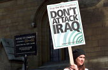 Stop the War Coalition lobby of parliament against war in Iraq - Paul Mattsson - 18-03-2003